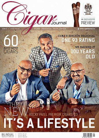 cigar journal rocky patel cigars cover image