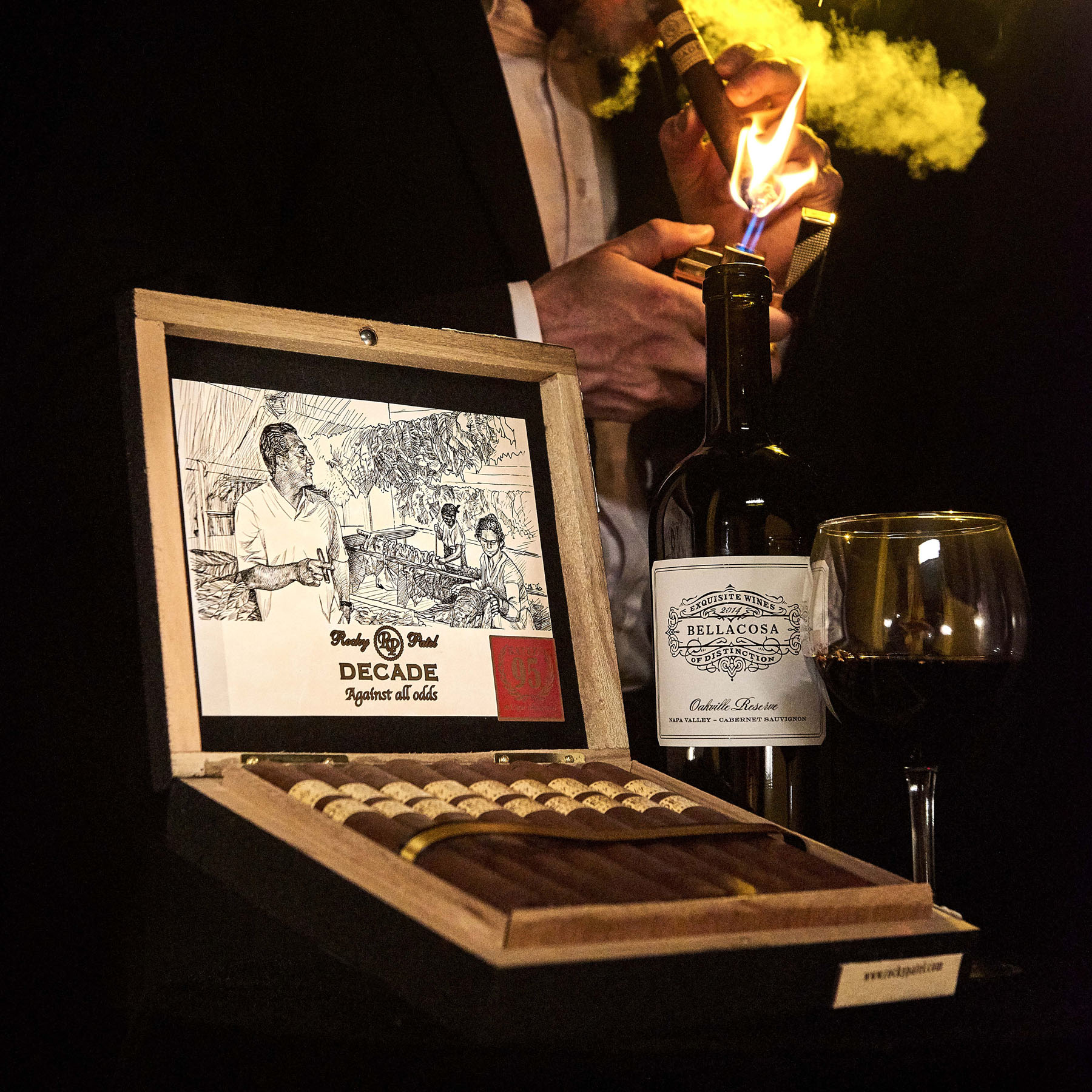 rocky patel decade cigars international shipping image