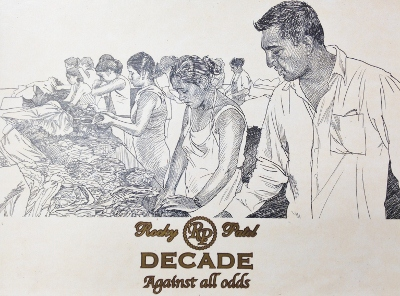 rocky patel decade cigars drawing image