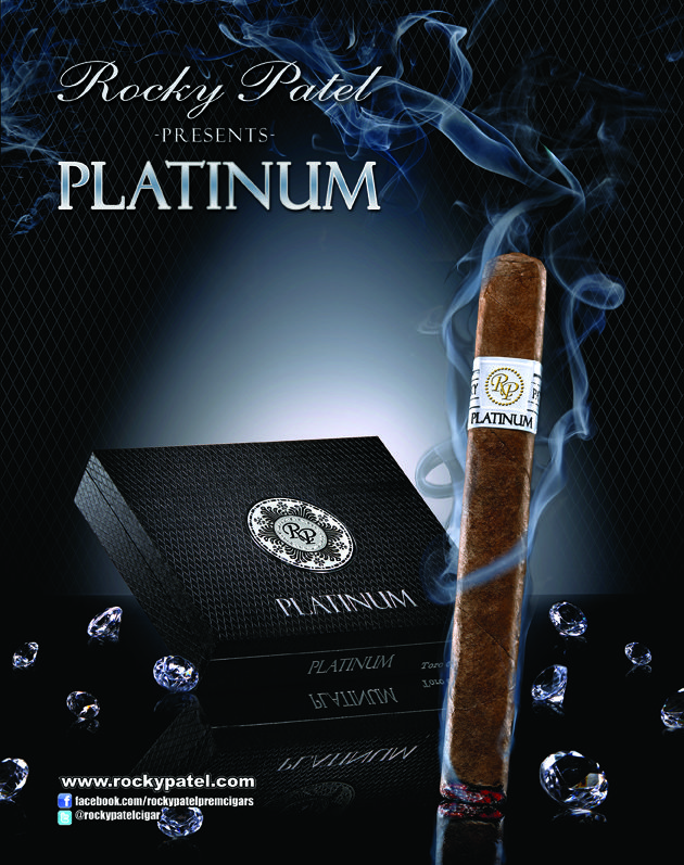 Rocky Patel Platinum Robusto - Box of 20 image
