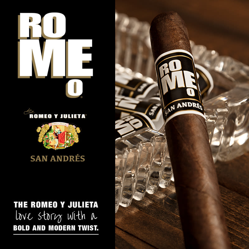Romeo San Andres by Romeo y Julieta Robusto - Pack of 10 image