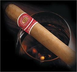 romeo y julieta reserva real robustos cigar close up image