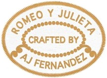 romeo y julieta crafted by aj fernandez cigars logo image