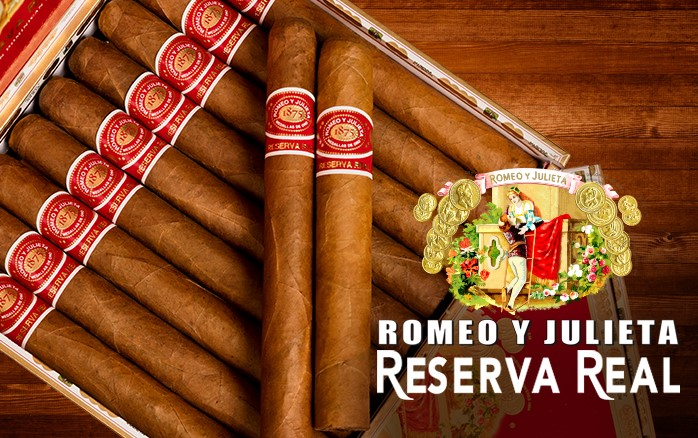 Romeo y Julieta Reserva Real Gran Toro - Box of 20 image
