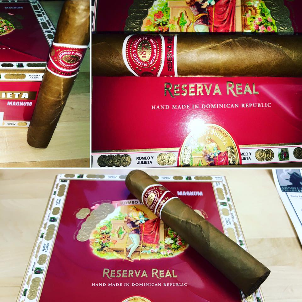 romeo y julieta reserva real cigars collage image