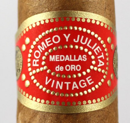 romeo y julieta vintage no 2 cigars band cu image