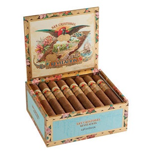 san cristobal revelation cigars box open image