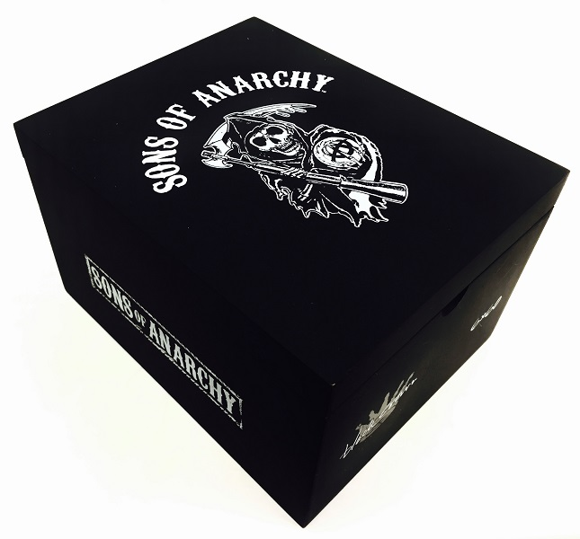 Sons of Anarchy by Black Crown Robusto (5 x 54) - 5 Pack image