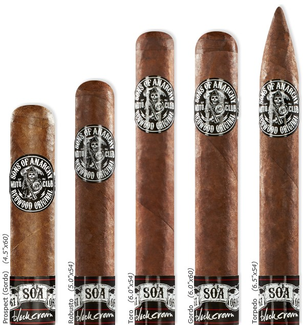 sons of anarchy cigars chart image