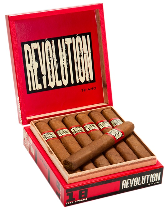 Te-Amo Revolution Robusto - Box of 18 image