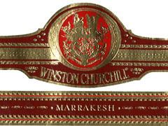 winston churchill cigars band image