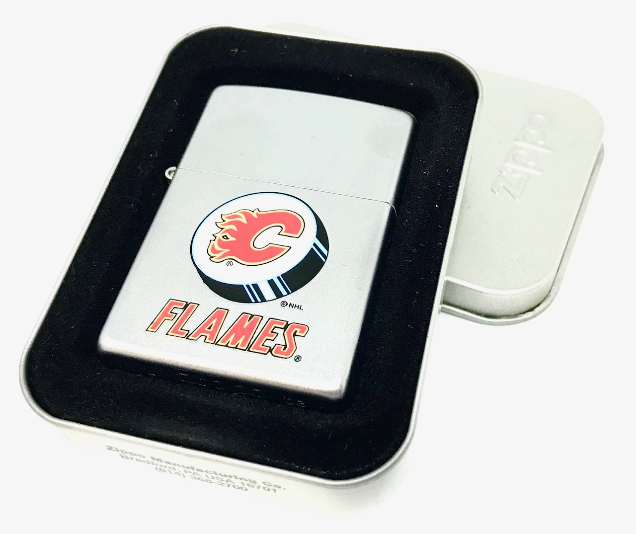 calgary flames lighter image