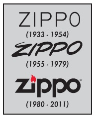 zipplo lighters logo history image