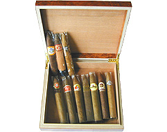Handcrafted Belicoso Sampler With Free 15 Count Humidor