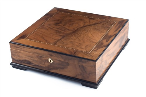 NEW!: The Blue Chip - 130 Capacity Coffee Table Humidor