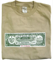 San Cristobal de La Habana Cuban Cigar Box Warranty Seal T-shirt