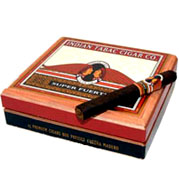 Indian Tabac Super Fuerte Robusto Natural, Box of 25 - Rated 92!