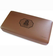 Trinidad Trinidad Logo Leather Travel Humidor, Napa Leather