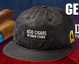 Cigars Quilt Style Hat