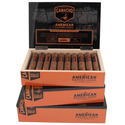 Camacho American Barrel Aged Gordo - Box of 20