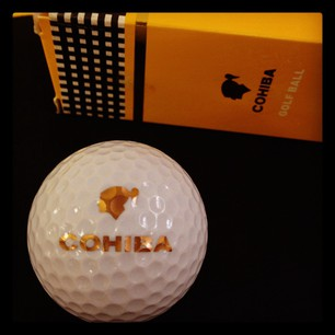 Cuban Cohiba Golf Balls - Box of 3