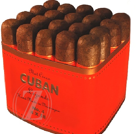 Cuban Legends No. 4, Natural - Bundle of 20