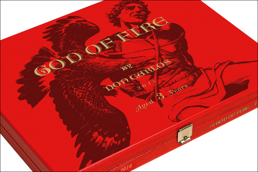 God of Fire by Don Carlos Robusto - Box of 10