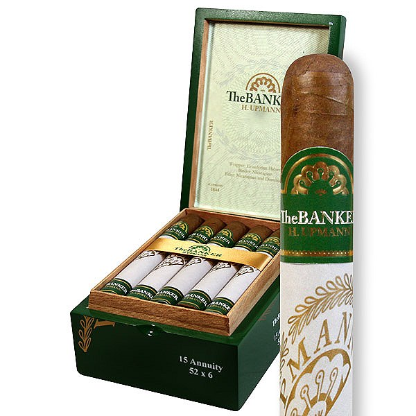 H. Upmann Banker Annuity - Box of 15 - Rated 91