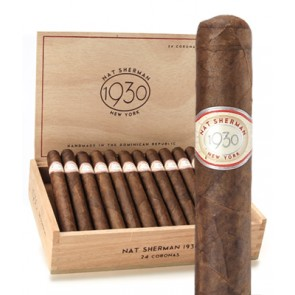 Nat Sherman 1930 Collection Corona Grande - Box of 24