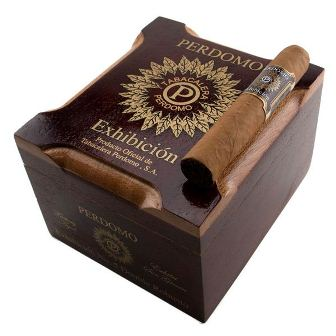 Perdomo Exhibicion Sun Grown Double Robusto - Box of 20