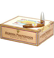 Aurora Preferido Platinum No. 2 Tubos - Box of 8