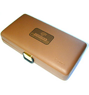Cohiba XV Cohiba Logo Leather Travel Humidor - Napa Leather
