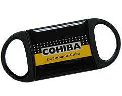 Cuban Cohiba Logo Double Bladed Cutter