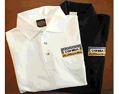 Cuban Cohiba Polo Shirt - White, Size XXL Only