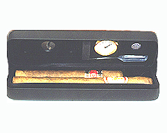 Csonka Pocket Humidor - 2-3 Cigar Case, Black