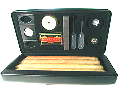 Csonka Cigar Travel Humidor Black - World's Favorite Case