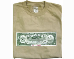 Cuban Cigar Box Seal T-shirt
