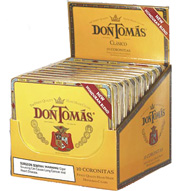Don Tomas Clasico Coronitas - 10 tins of 10 (100 cigars)