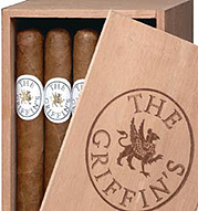 Griffins by Davidoff 300, Natural - 5 Pack