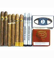 Hoyo De Monterrey Excalibur Sampler - 8 cigars & Pack of Minis