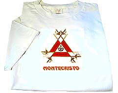 MG Cuban Montecristo Logo T-Shirt - White