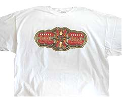 MG Opus X Cigar Band Logo T-shirt - White