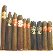 Partagas Limited Reserve Decadas 10 Cigar Sampler