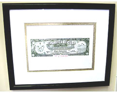 Habanos Cuban Cigar Warranty Seal Print - Matted