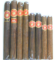 Punch Gran Puro 8 Cigar Sampler - Including Rare Corojo!