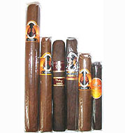 Indian Tabac Cameroon Legend , Rocky Patel 6 Cigar Sampler