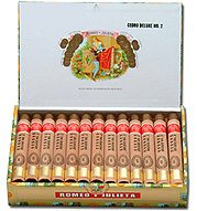 Romeo y Julieta 1875 Cedro Deluxe No. 2 - Box of 25