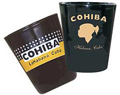 Cuban Cohiba Shot Glass Set