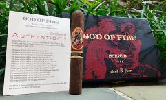 God Of Fire Serie B Robusto Gordo - Box of 10