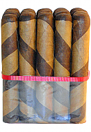 Dominican Barber Pole Double Toro 660 - Bundle of 20
